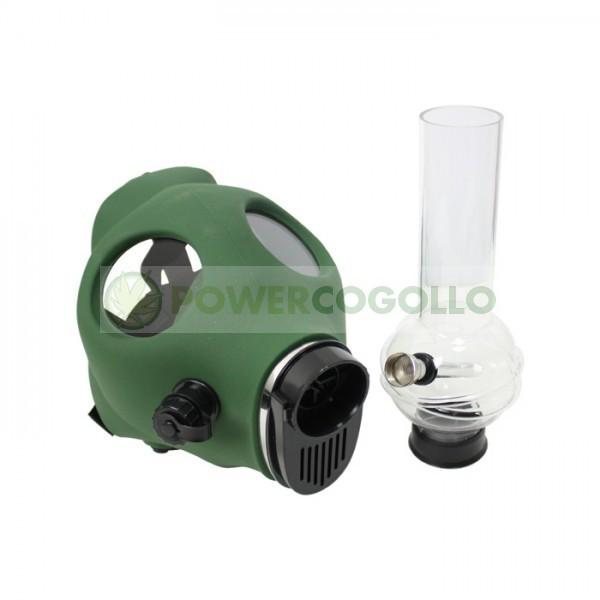 Bong Máscara de Gas Verde 1