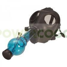 bong máscara de gas para fumar 0