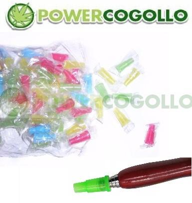 Boquillas Desechables Shisha Plastico Colores 0