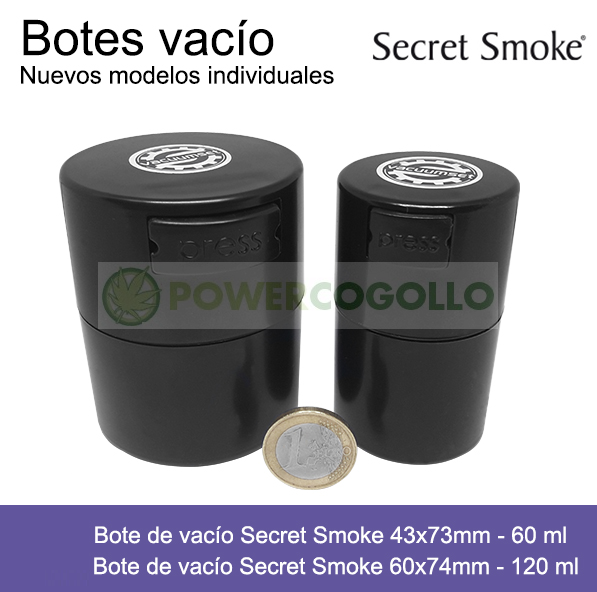 Bote de vacío Secret Smoke  0