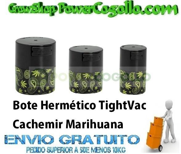Bote Hermético TightVac Cachemir Marihuana 0