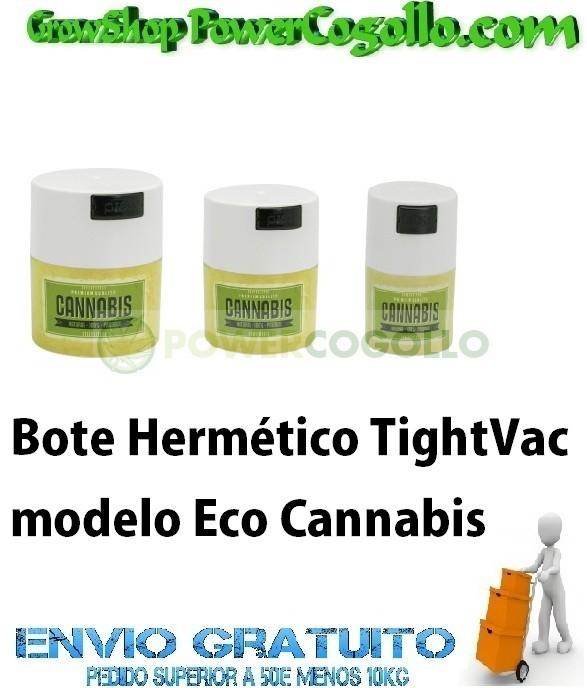 Bote Hermético TightVac Eco Cannabis 0