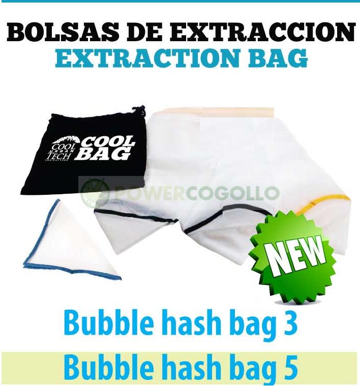 Bolsas de Extracción Bubble hashExtractor (Todo Malla) Cooltech Nuevas 0
