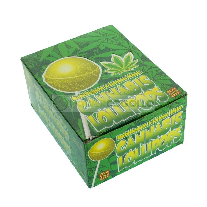 C - Lollipops con chicle Lemon Haze 2