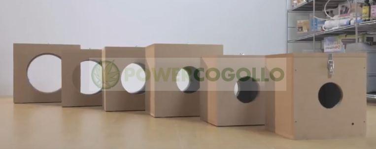 Caja Antiruido Insonorización Extractor 125 MM 2