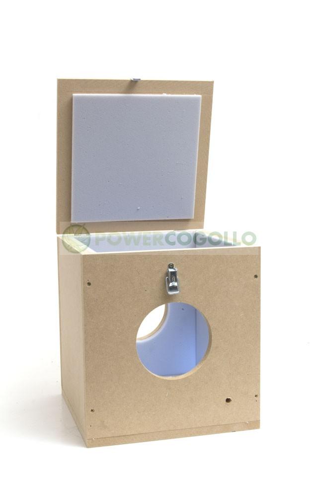 Caja Antiruido Insonorización Extractor 100 MM 1