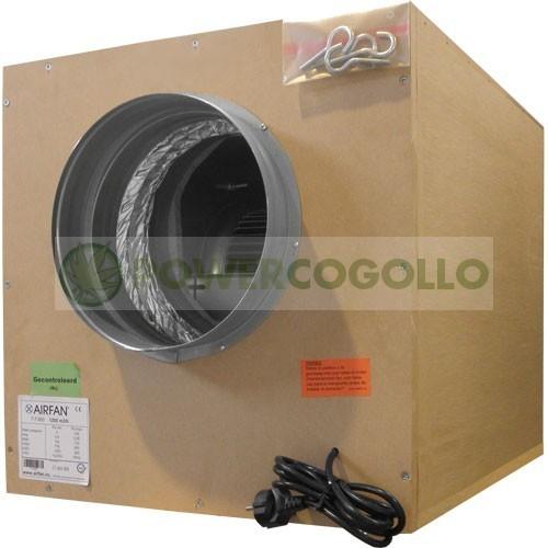 Caja Extracción Softbox 7000m3/h (IN-3x250-OUT 315) + Coronas 0