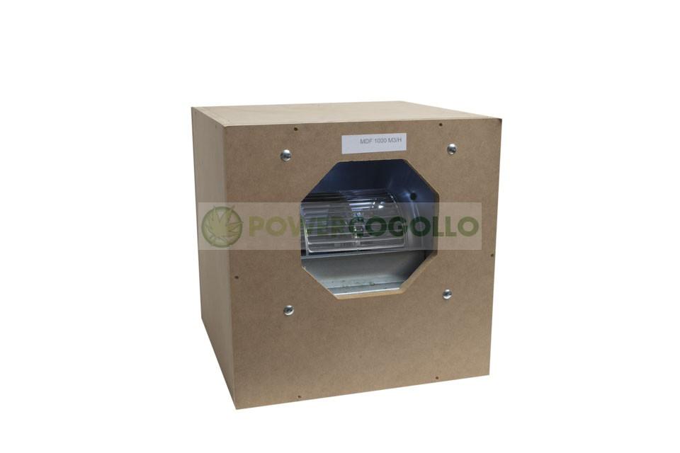 Caja Madera Extracción MDF Insonorizada 5000 m3/h 0