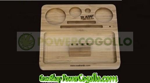 Bandeja RAW Bamboo Rolling Tray 2