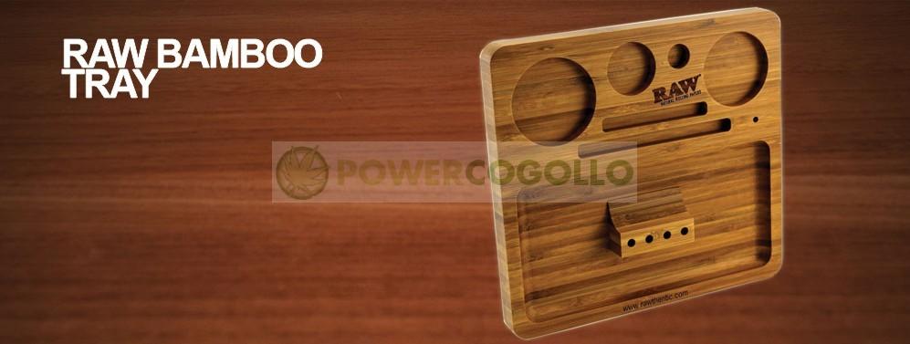 Bandeja RAW Bamboo Rolling Tray 1