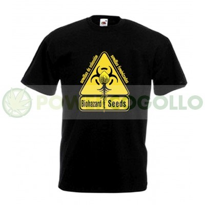 Camiseta Biohazard Seeds Logo  0
