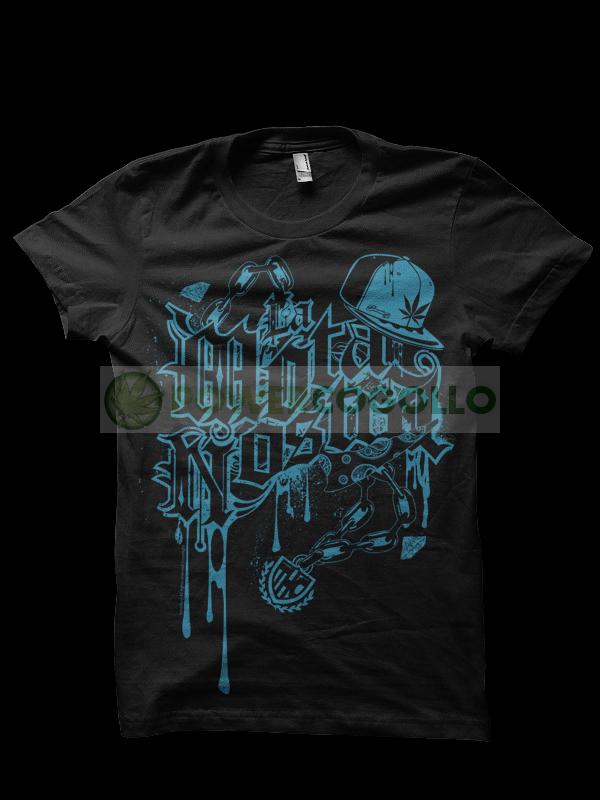 Camiseta La Mota Nostra de Smonkey - Marihuna T-Shirt 0