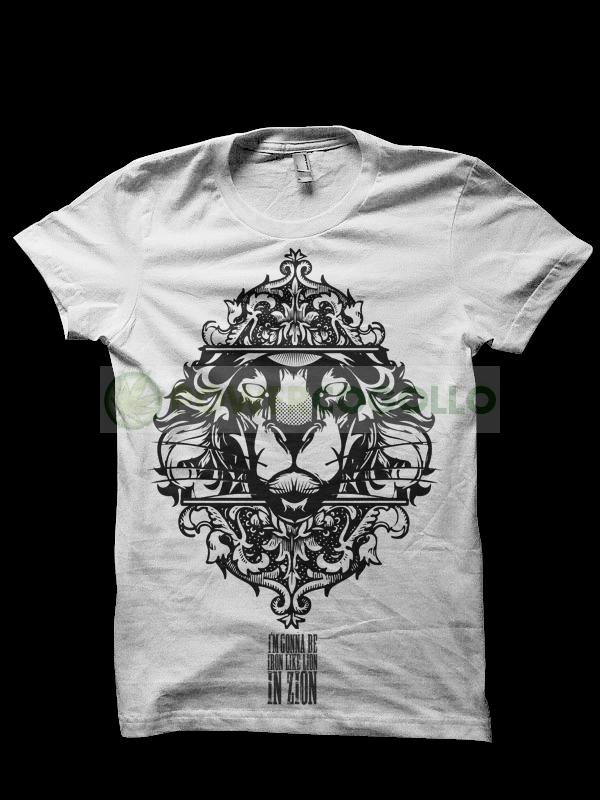 Camiseta Lion Zion de Smonkey - Marihuana T-Shirt 0
