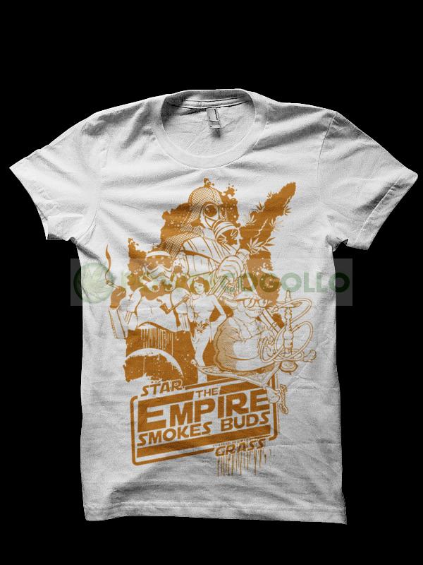 Camiseta The Empire Smokes de Smonkey - Marihuana t-shirt 1