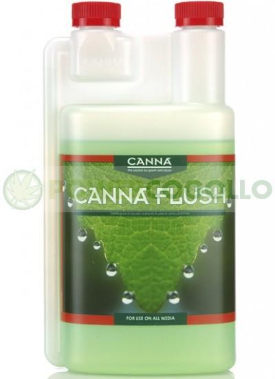 Canna Flush sirve como Limpiador del Sustrato 0