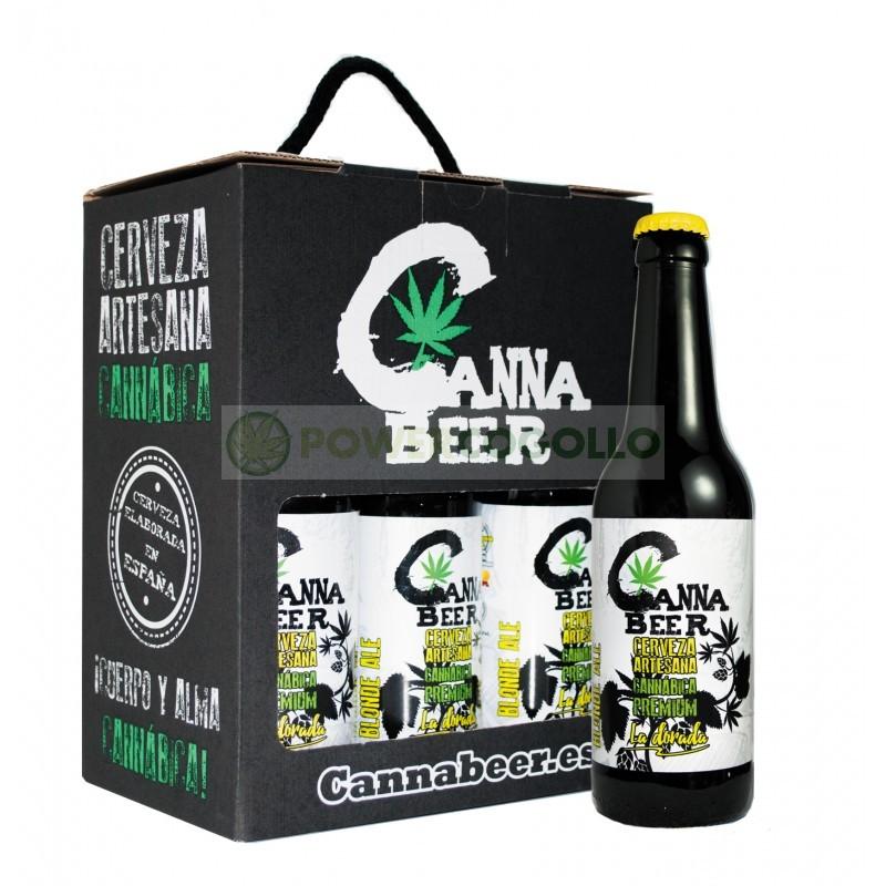 Cannabeer Dorada 33cl Cerveza Cannabis 0