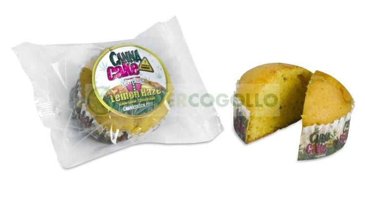 CannaCake Lemon Haze con Cannabis (Cannashock) 2