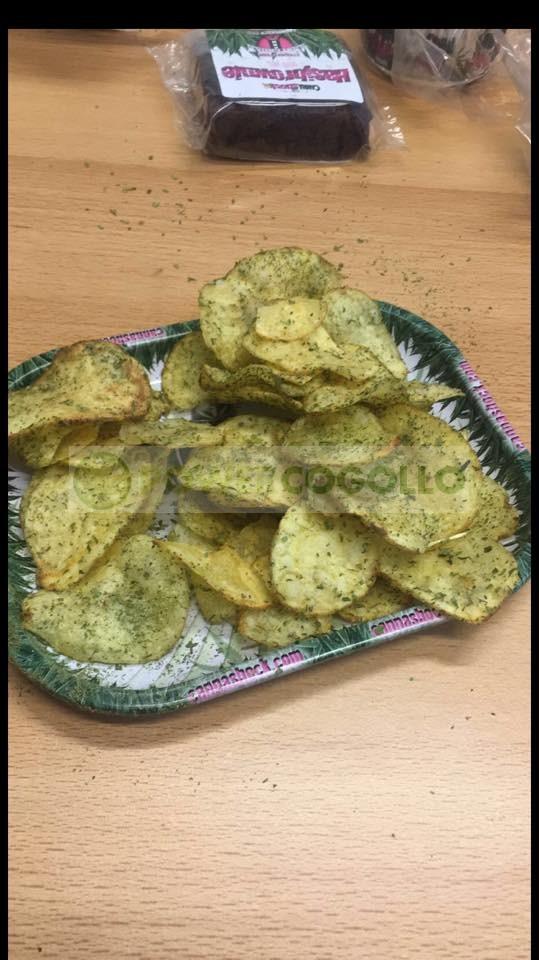 Cannachips Patatas Fritas con Marihuana  0