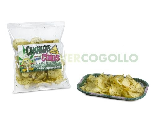 Cannachips Patatas Fritas con Marihuana  1