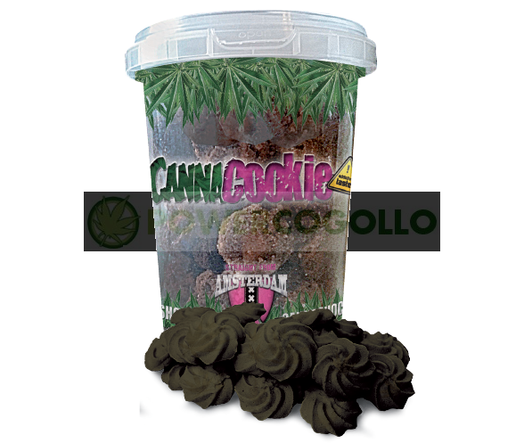 CannaCookie Chocolate Galletas con Marihuana 2