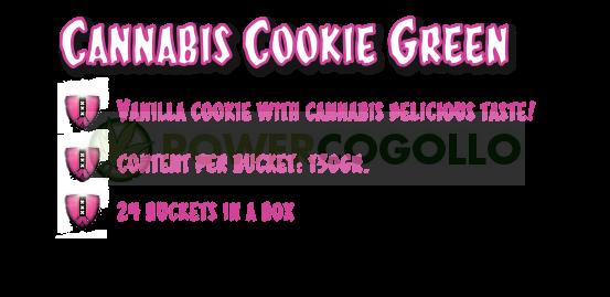 CannaCookie Green Galletas con Marihuana 2