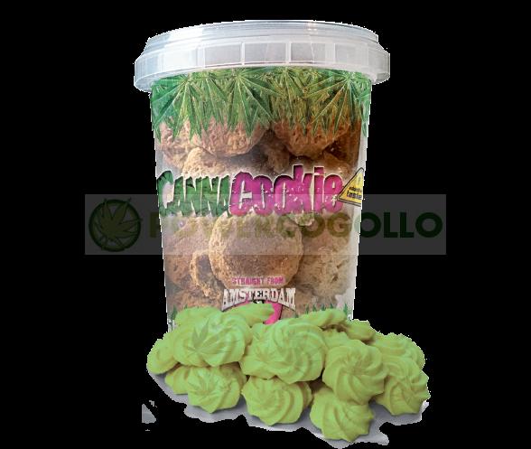 CannaCookie Green Galletas con Marihuana 0