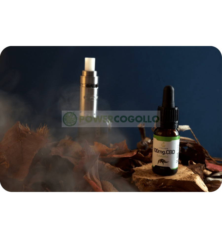 CANNAMOR CBD 100MG MENTA E-LIQUID 10 ML 0