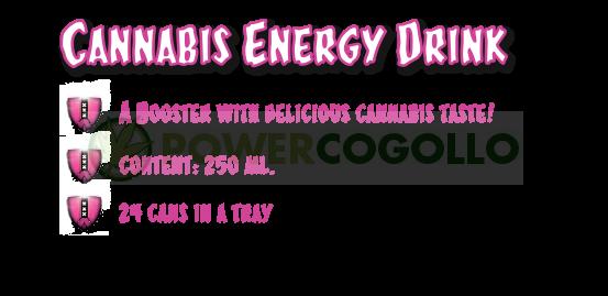 Cannashot Energy Drink Marihuana (CannaShok) 0