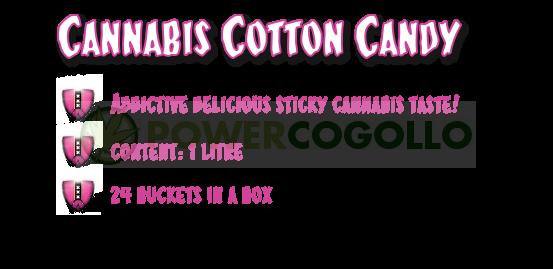 Cannasticky Cotton Candy Algodón de Azúcar 0