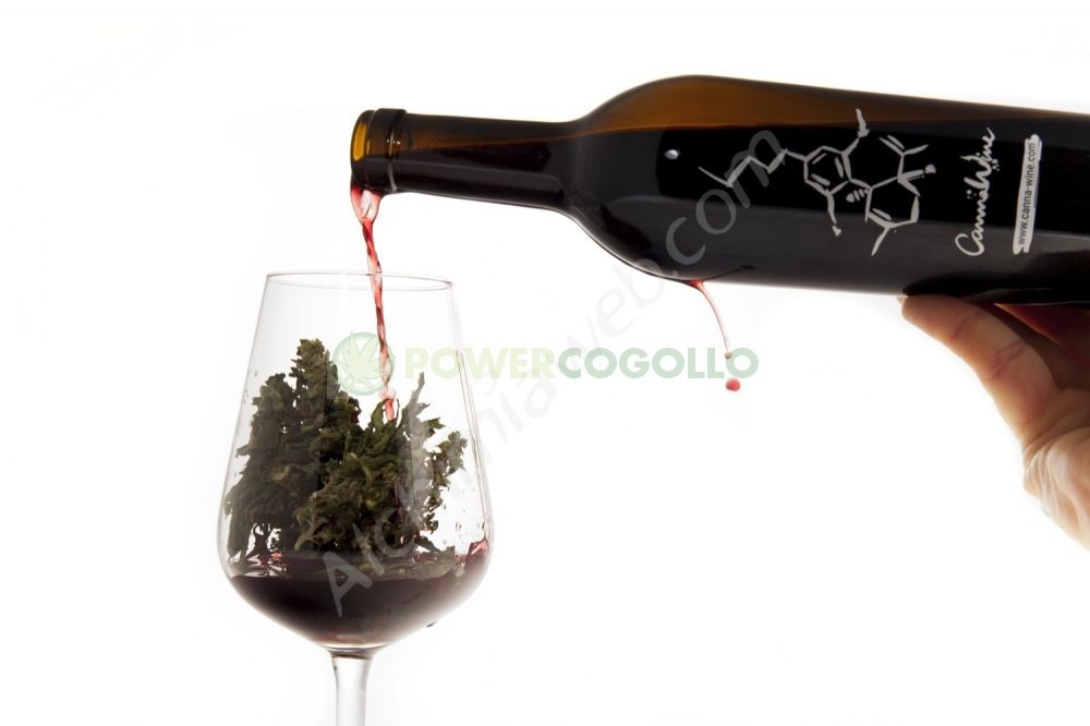 CannaWine Vino con CBD 500ml 3