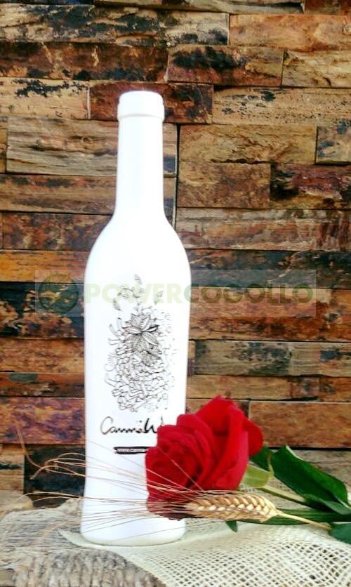CannaWine Vino Blanco con CBD 3