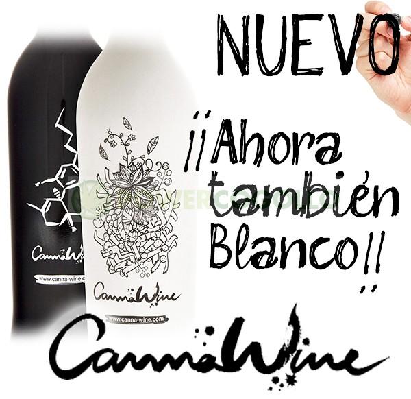 CannaWine Vino Blanco con CBD 0