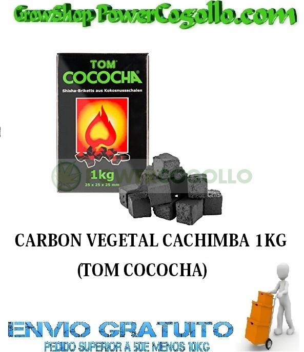 CARBON VEGETAL CACHIMBA 1KG (TOM COCOCHA) 0