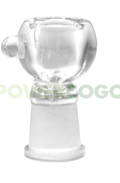 Cazoleta de Cristal para pipa de 19mm 0