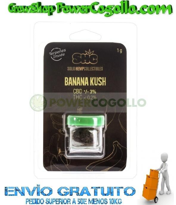 CBD Hash Banana Kush 3% (SHC) 0