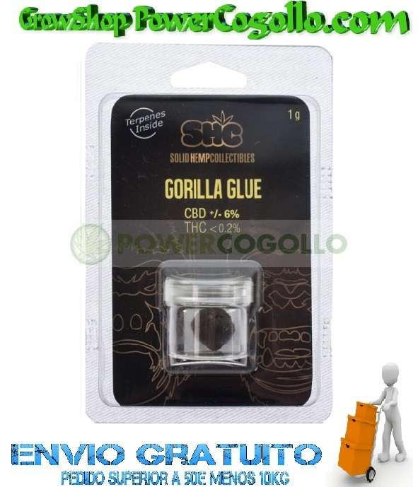 CBD Hash Gorilla Glue 6% (SHC) 0