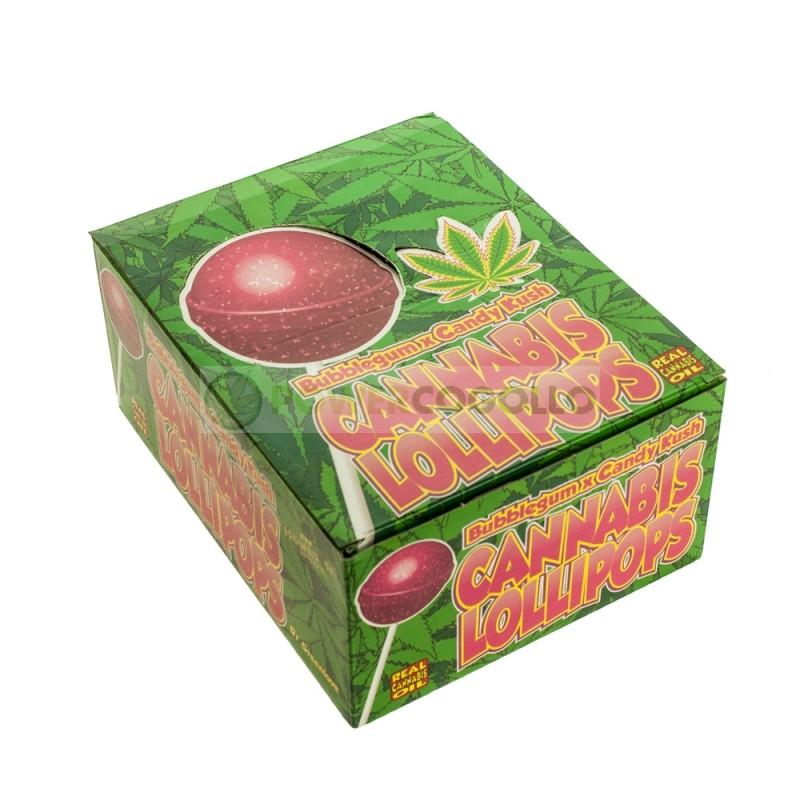 Chupa Chup de Marihuana Candy Kush con chicle 1