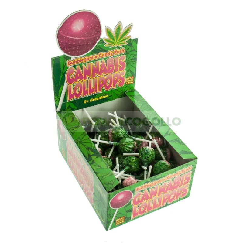Chupa Chup de Marihuana Candy Kush con chicle 2