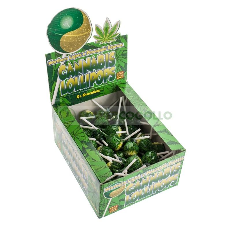 Chupa Chup de Marihuana Pineapple Express con chicle 0