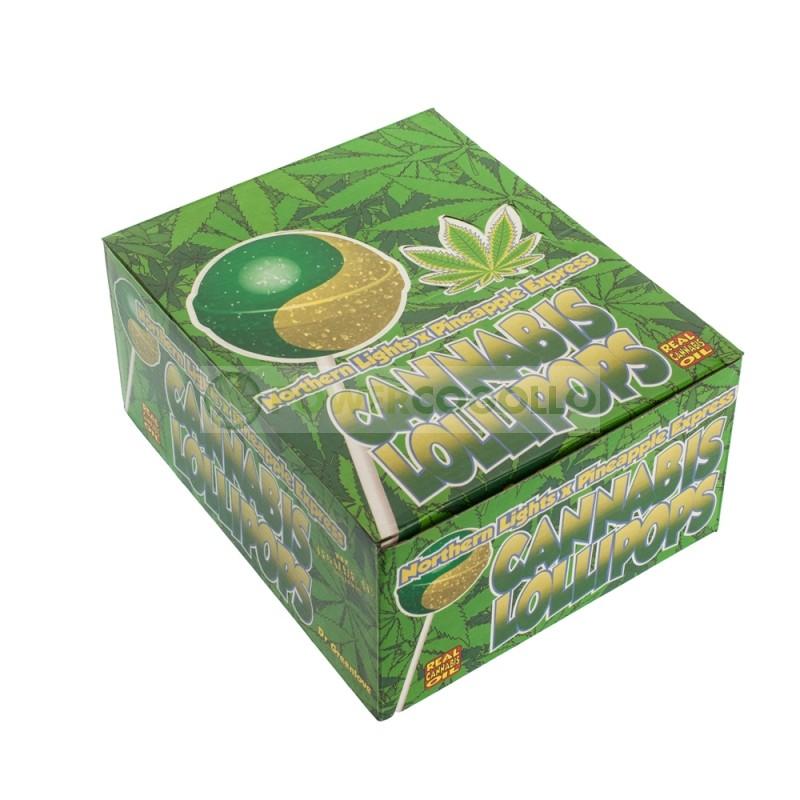 Chupa Chup de Marihuana Pineapple Express con chicle 1