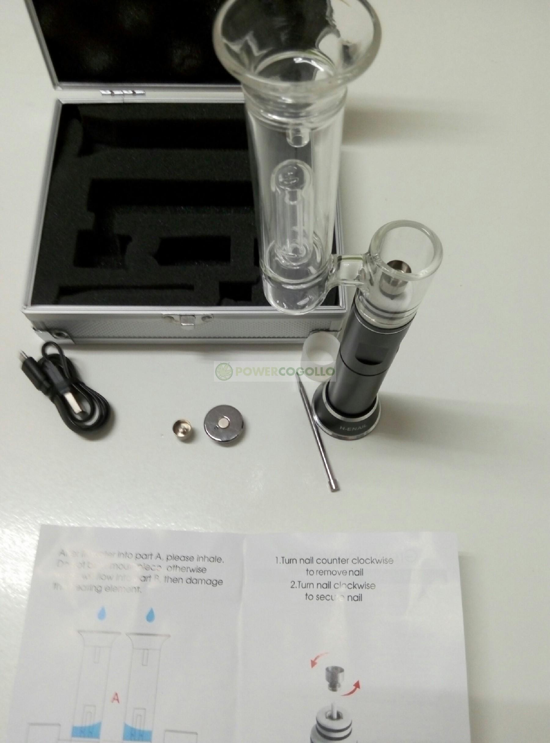 vaporizador H-enail g9 clavo electrico 1