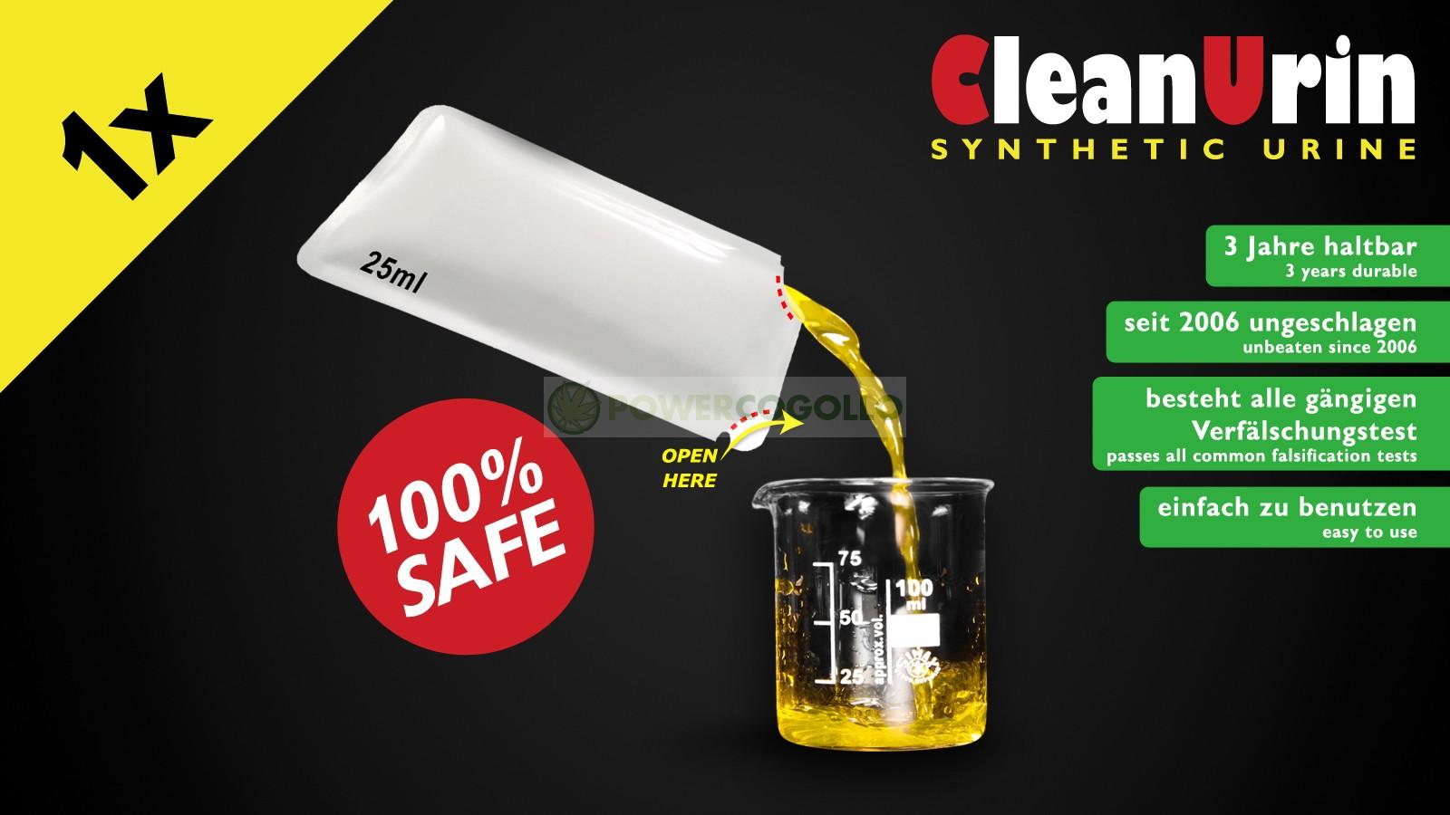 Orina Sintética CleanUrine 25 ml 2