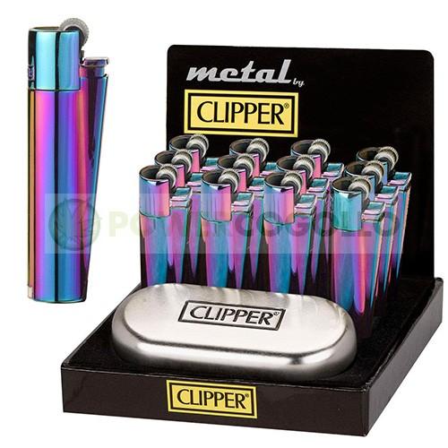 Mechero Clipper Icy Colours + Caja Metálica  (Edición Especial) 0