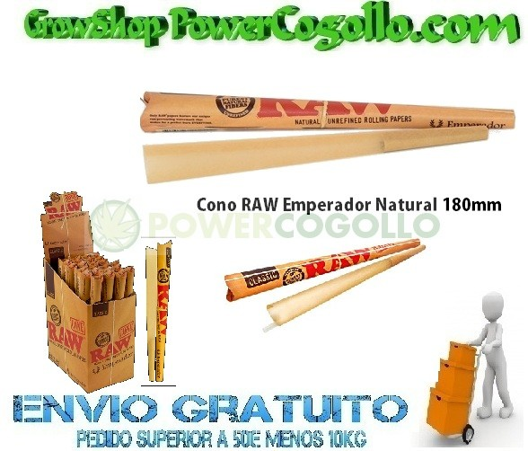 Cono RAW Emperador Natural 180mm 0