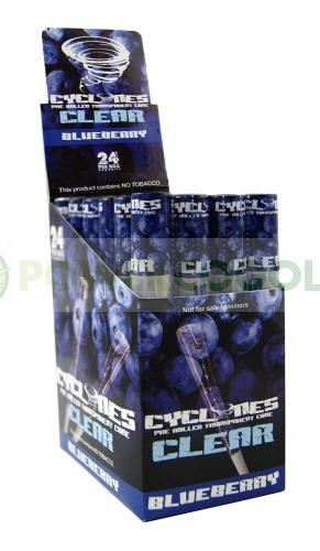 Cono Transparente Cyclones Blueberry 1