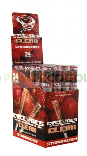 Cono Transparente Cyclones Strawberry 1