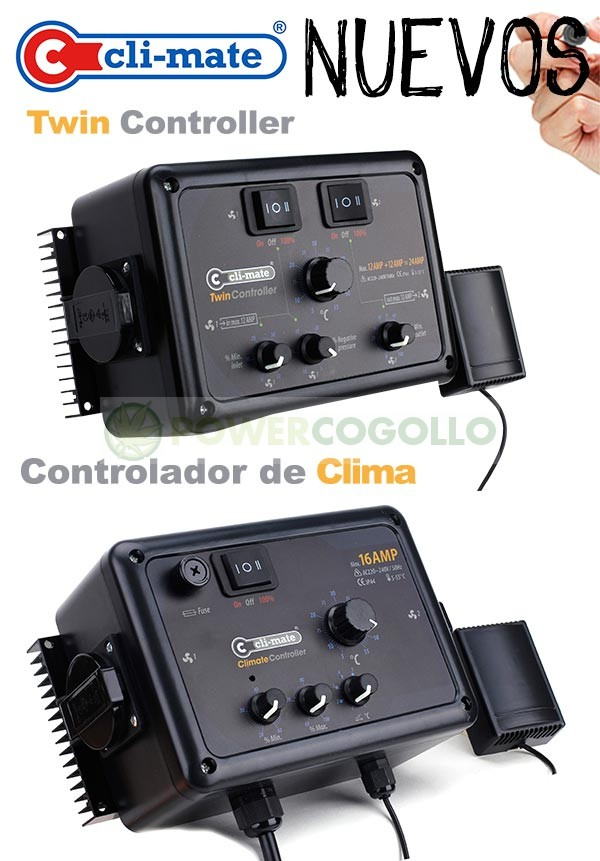 Controlador de clima Twin Controller 12+12a CLI-MATE 0