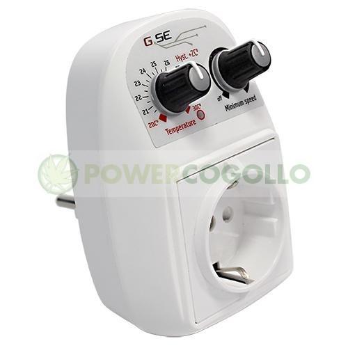 Controlador Temperatura y Velocidad Mínima de 5A (GSE) 1