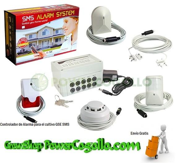 Controlador de Alarma para el cultivo GSE SMS 0