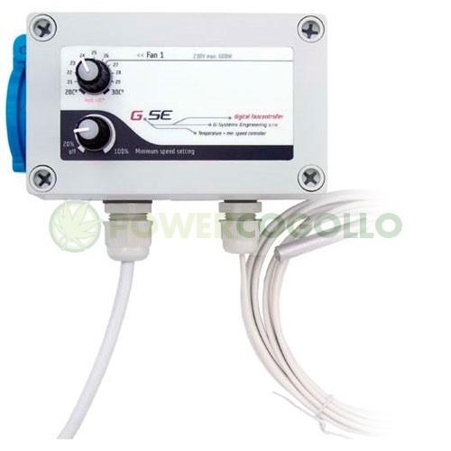 Controlador de Temperatura y Velocidad Mínima (GSE) 2